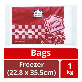 HomeProud Bags - Freezer (22.8 x 35.5cm)