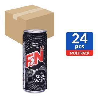 F&N Can Drink - Club Soda Water