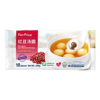FairPrice Frozen Glutinous Rice Ball - Red Bean