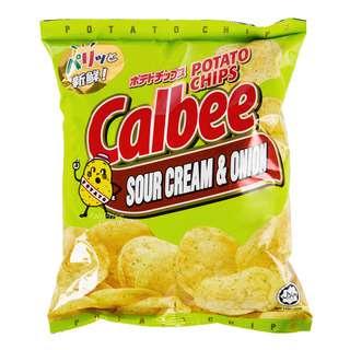 Calbee Potato Chips - Sour Cream & Onion