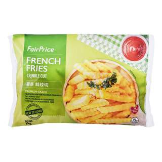 FairPrice Frozen French Fries - Crinkle Cut