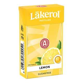 Lakerol Sugar Free Pastilles - Lemon