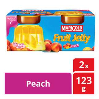 Marigold Fruit Cup Jelly - Peach