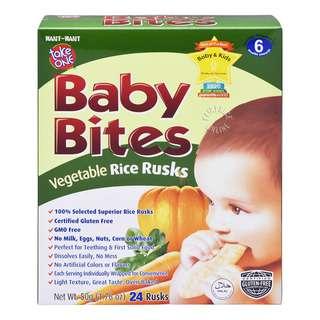 Take One Baby Bites - Vegetable