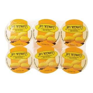 Joy Mangoes Mango Pudding with Nata De Coco