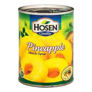 Hosen Fruits in Syrup - Pineapple (Sliced)