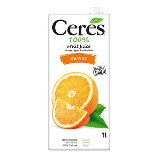 Ceres 100% Juice Blend Packet Drink - Orange