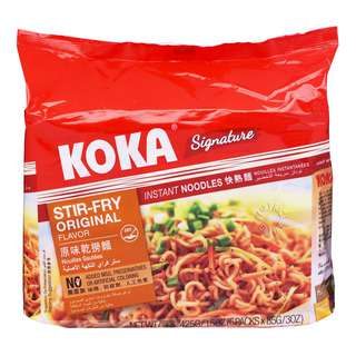 Koka Instant Noodles - Original Stir-fry