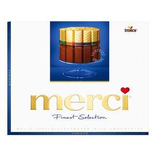 Merci Finest Selection European Chocolate - Milk Assorted (Blue)