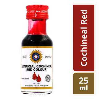 Star Brand Artificial Food Colours - Cochineal Red