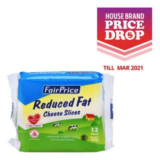 FairPrice Cheese Slices - Reduced Fat