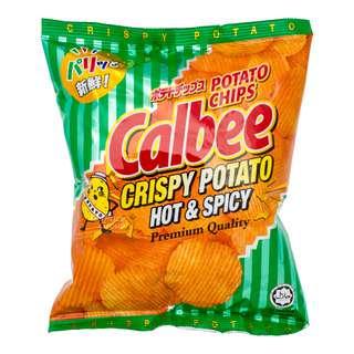 Calbee Potato Chips - Hot & Spicy (Crispy)