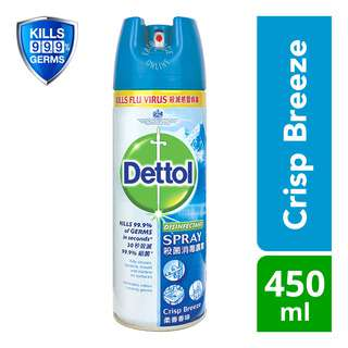 Dettol Disinfectant Spray - Crisp Breeze