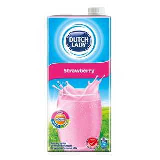 Dutch Lady UHT Milk - Strawberry