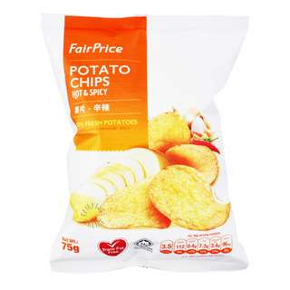 FairPrice Potato Chips - Hot & Spicy