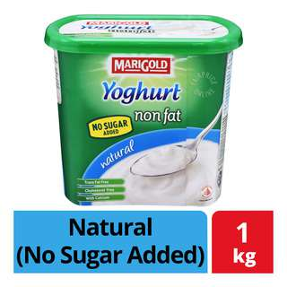 Marigold Non Fat Yoghurt - Natural (No Sugar Added)