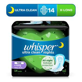 Whisper Ultra Clean Wings Pads - Heavy Day/Night (32cm)