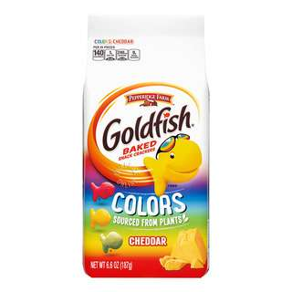 Pepperidge Farm Goldfish Baked Snack Crackers - Colors
