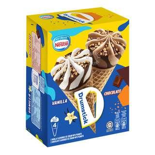 Nestle Ice Cream Drumsticks - Chocolate & Vanilla