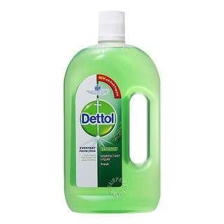 Kills 99.9% germs