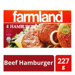 Farmland Frozen Beef Hamburger