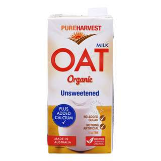 Pureharvest Organic Oat Milk - Unsweetened