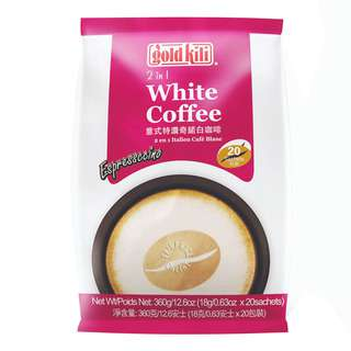 Gold Kili 2 in 1 Instant White Coffee - Espressccino