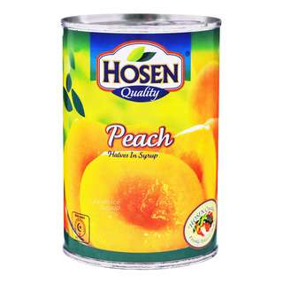 Hosen Fruits in Syrup - Peaches (Half)