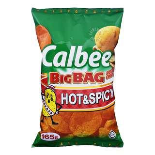Calbee Big Bag Potato Chips - Hot & Spicy