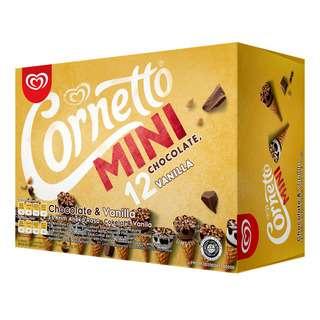 Cornetto Mini Ice Cream Cone - Chocolate & Vanilla