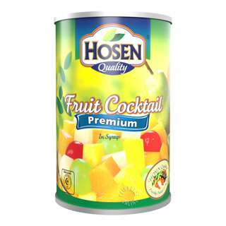Hosen Fruits in Syrup - Cocktail (Premium)