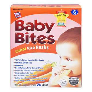 Take One Baby Bites - Carrot