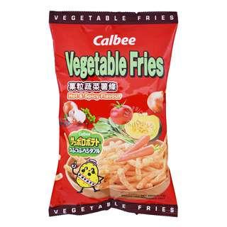 Calbee Vegetable Fries Chips - Hot & Spicy