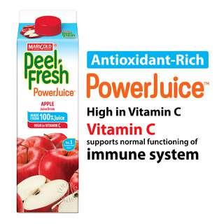 Marigold Peel Fresh Juice - Apple