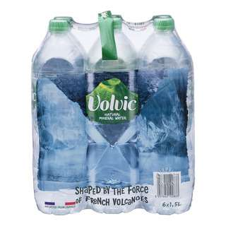 Volvic Natural Mineral Bottle Water