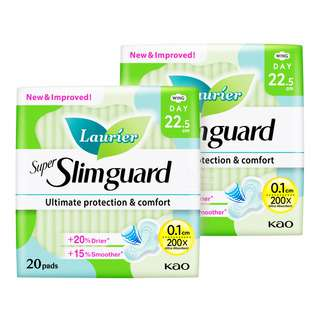 Laurier Super Slimguard Day Pads -Normal Heavy(22.5cm)