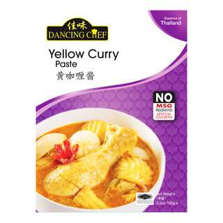 Dancing Chef Paste - Yellow Curry