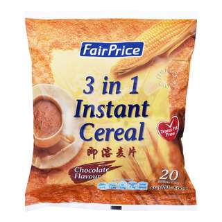 FairPrice 3 in 1 Instant Cereal Drink - Chocolate
