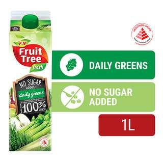 F&N Fruit Tree Fresh No Sugar Added Juice - Daily Greens