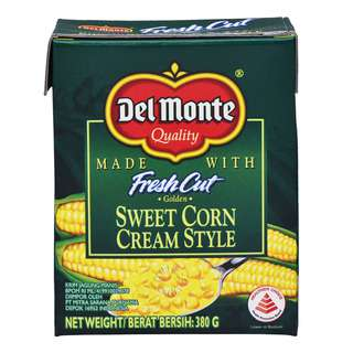 Del Monte Fresh Cut Golden Sweet Corn - Cream Style (Box)