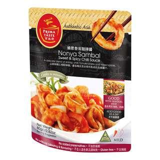 Prima Taste Sauce - Nonya Sambal Sweet & Spicy Chili