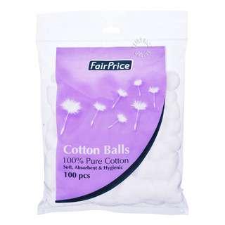 FairPrice 100% Pure Cotton Balls