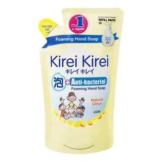 Kirei Kirei Anti-bacterial Hand Soap Refill - Natural Citrus