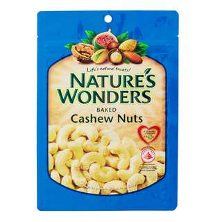 Nature's Wonders Baked Nuts - Cashew