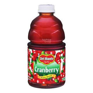 Del Monte Premium Fruit Bottle Juice - Cranberry