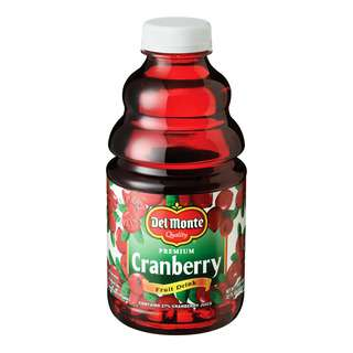 Del Monte Premium Fruit Bottle Juice - Cranberry