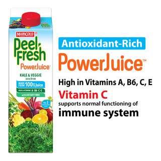 Marigold Peel Fresh Juice - Kale & Veggie