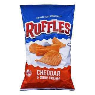 Ruffles Potato Chips - Cheddar & Sour Cream