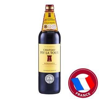 Vin De Bordeaux Red Wine - Chateau Pey La Tour