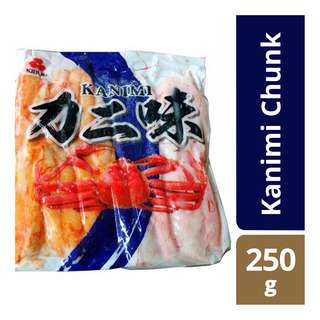 Kibun Frozen Imitation Crab Meat Stick - Kanimi Chunk